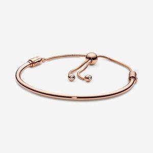 Pandora Flower Stem Sliding Bracelet